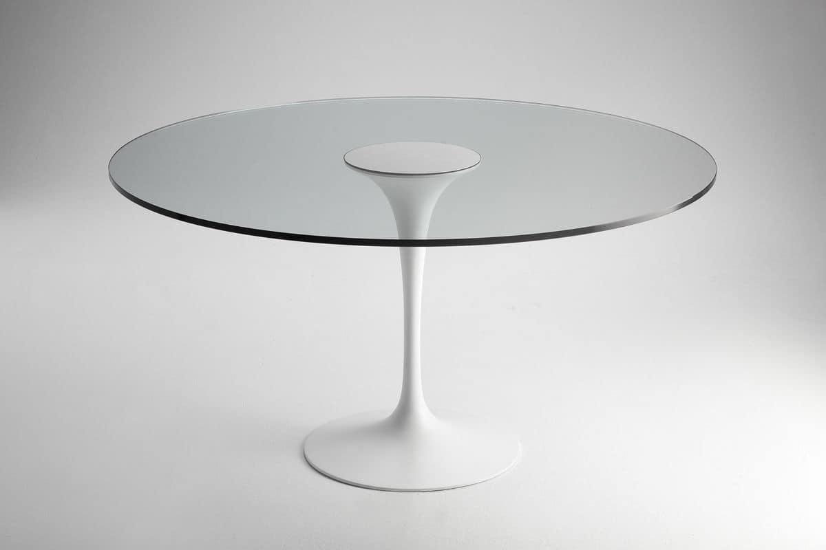 Tavoli Da Pranzo Con Piano Vetro : Tavoli Da Cucina In Vetro Bianco  #626769 1200 800 Tavoli Da Pranzo Con Piano Vetro