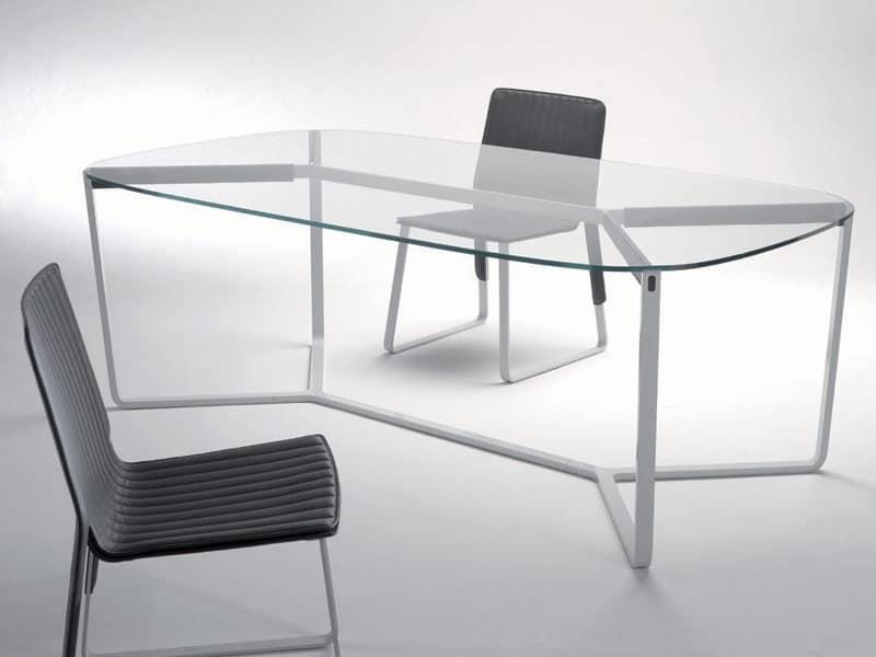 Tavolo Da Pranzo Rotondo In Vetro ~ Ispirazione design casa