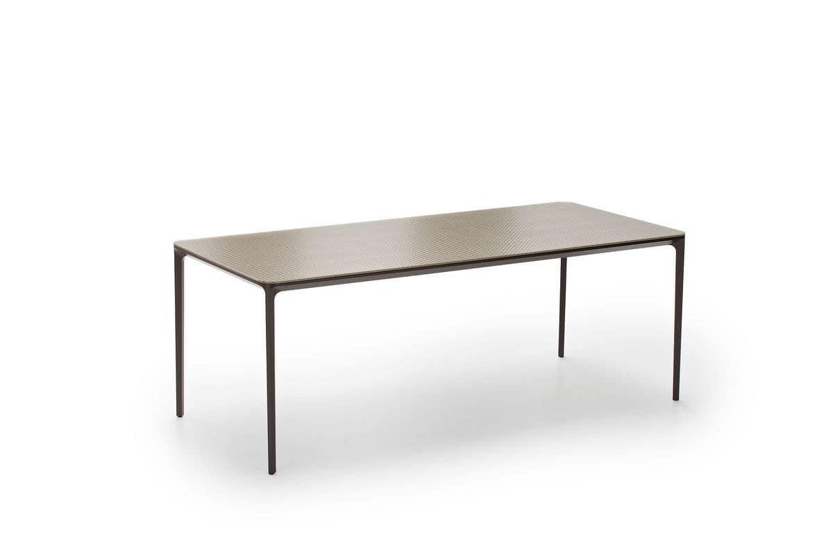 Vetro Metallo Per Sala Da Pranzo Tavolo Moderno Piano In Vetro Per #736958 1200 800 Tavoli In Vetro Per Sala Da Pranzo