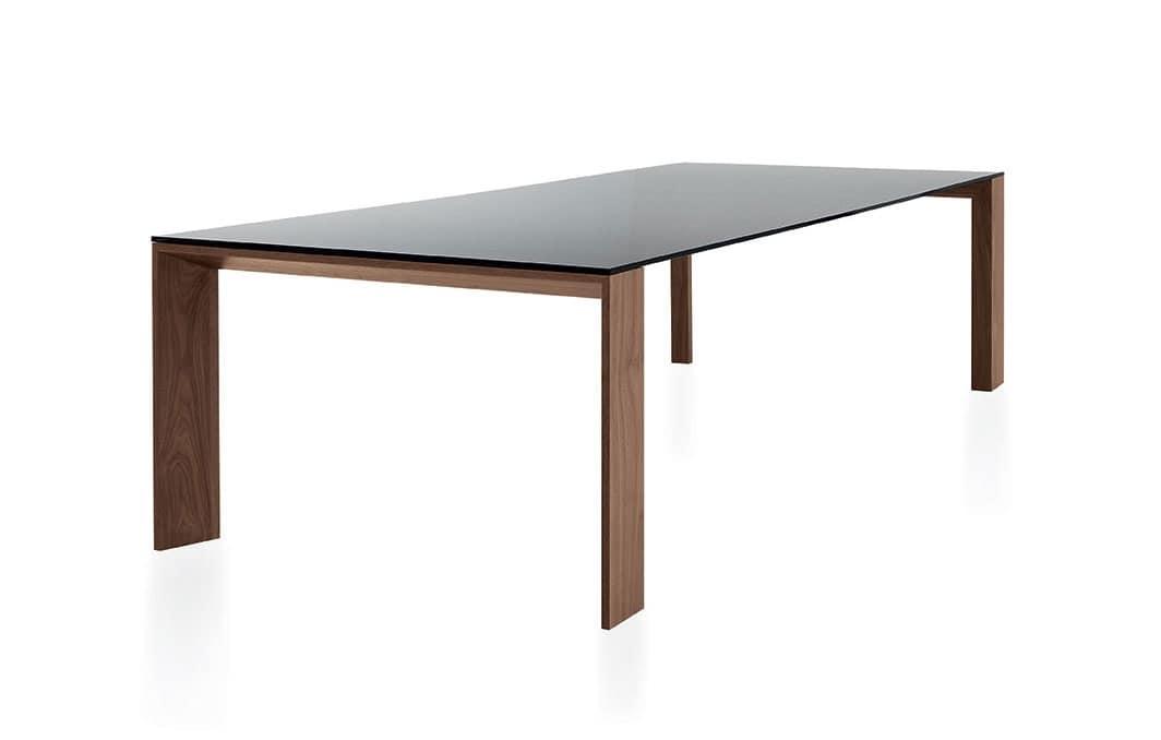 Tavolo da cucina salvaspazio idee di design nella vostra - Tavoli da pranzo in vetro ...