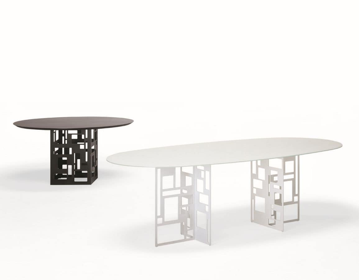 Tavolo da pranzo moderno in vetro ~ avienix.com for .