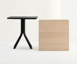 ART. 480 PECK, Tavolo in legno massello, per ristorante e bar