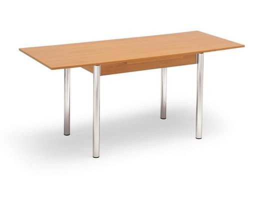 Tavoli base in metallo parigi 70x110 for Tavolo 70x110 allungabile