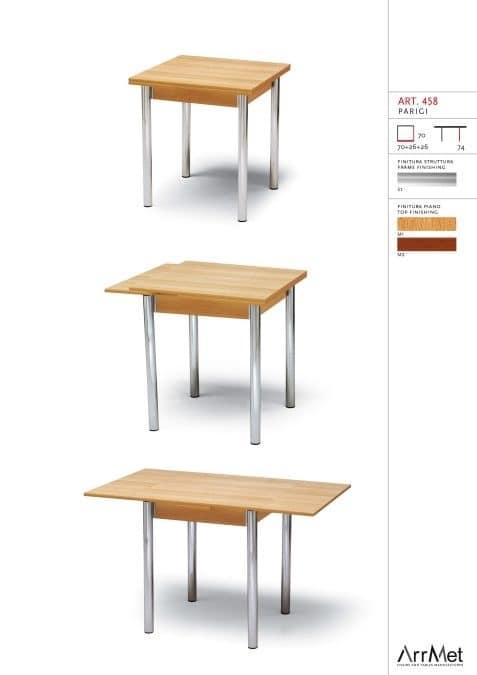 Tavolo quadrato allungabile, adatto per la cucina | IDFdesign