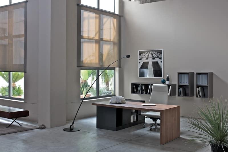 Scrivania direzionale per ufficio tavolo per ufficio for Scrivania direzionale