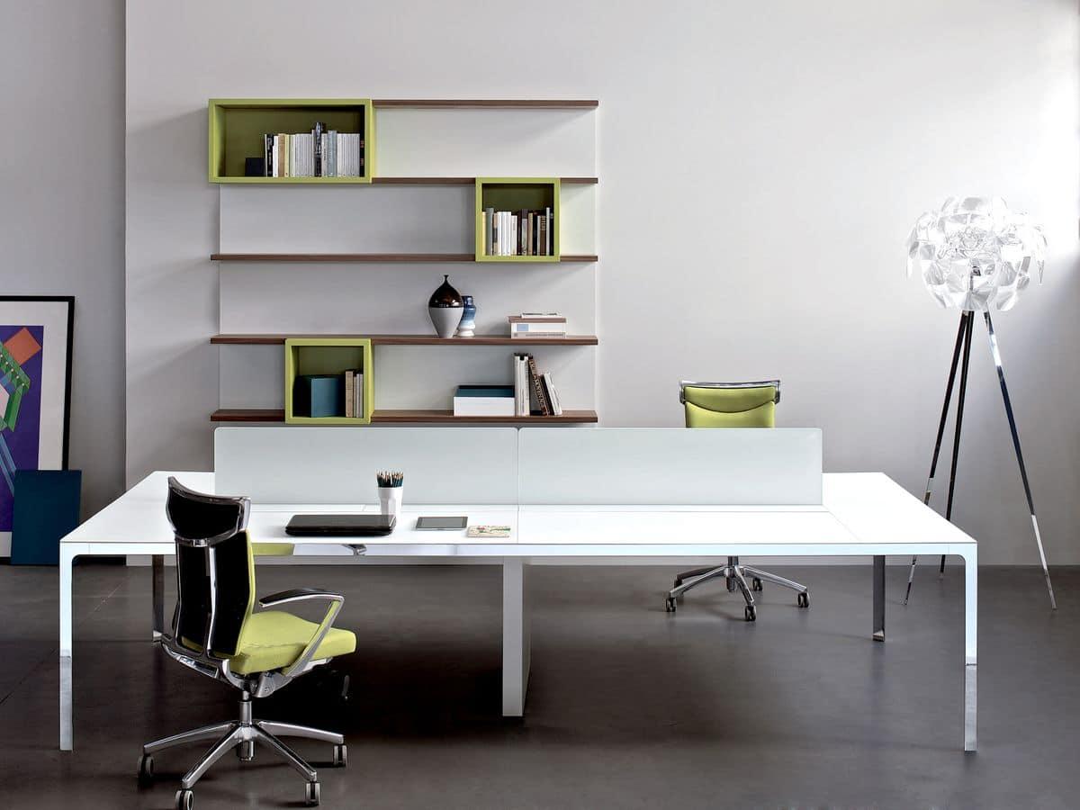 4 postazioni operative ideali per uffici moderni idfdesign for Scrivanie operative ufficio
