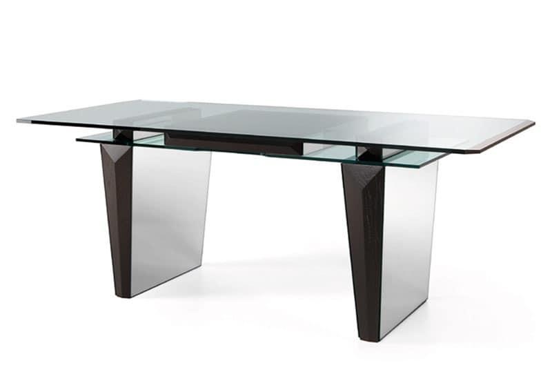 Tavoli tavoli ufficio design moderno idf for Tavoli eleganti