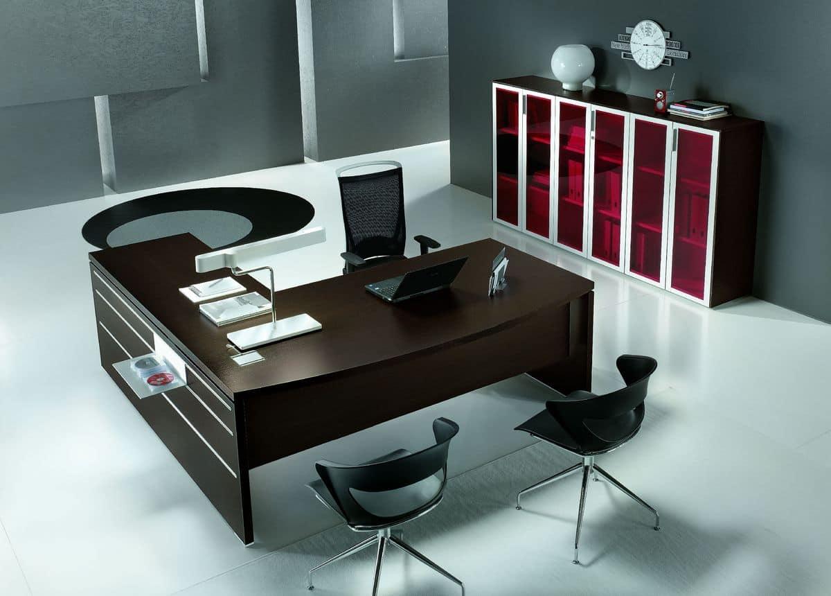 scrivanie e tavoli per ufficio tavolo moderno in legno per ufficio vari rivestimenti