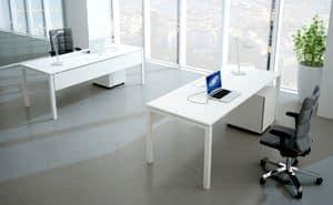 Asterisco In scrivania operativa 1, Postazione operativa per ufficio, personalizzabile