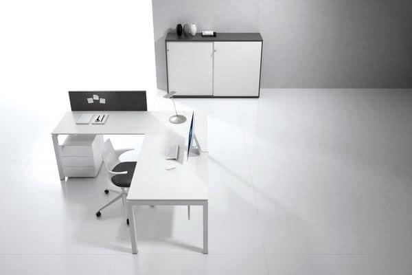 Tavoli da ufficio scrivania ufficio italo comp 5 for Scrivanie operative ufficio