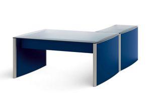 Valeo scrivania yunior composto 200.Y16M, Scrivani angolare per ufficio