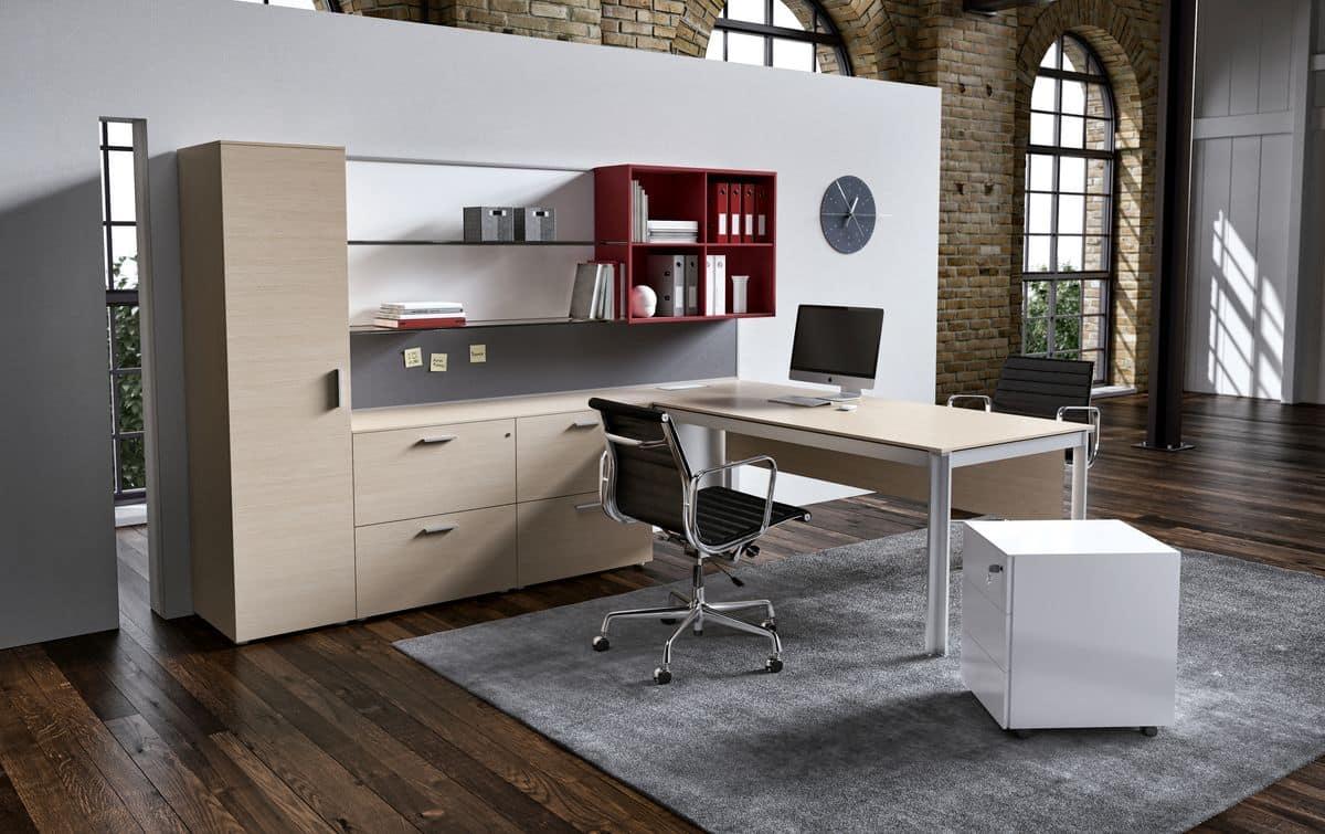 Arredamento per ufficio operativo profili in alluminio for Arredamento per ufficio