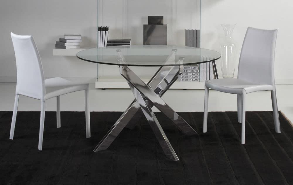 Tavoli da lavoro in legno per cucina - Tavoli da cucina rotondi allungabili ...