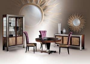 Dec� Tre Diningroom, Tavolo da pranzo tondo, style classico di lusso
