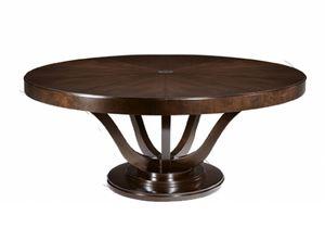 Victoria tavolo, Tavolo tondo, in stile classico