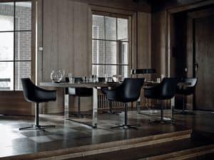 Immagine di Jazz, tavoli metallo eleganti