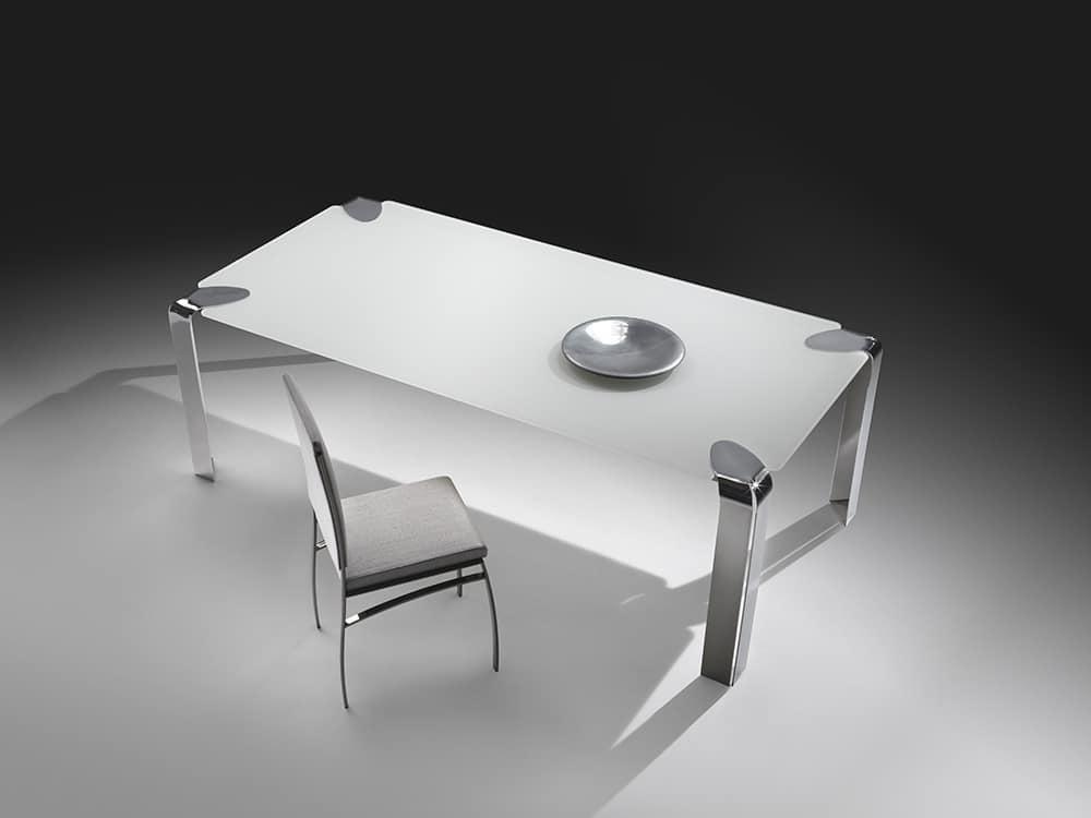 Tavolo Da Pranzo Cristallo Classico ~ home design, ispirazione interni e mobili