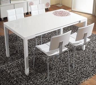 ... di s46 tommaso s48 tommasone, tavoli pranzo struttura in metallo