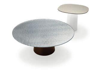 Immagine di Totem Circles, tavoli-piano-cristallo