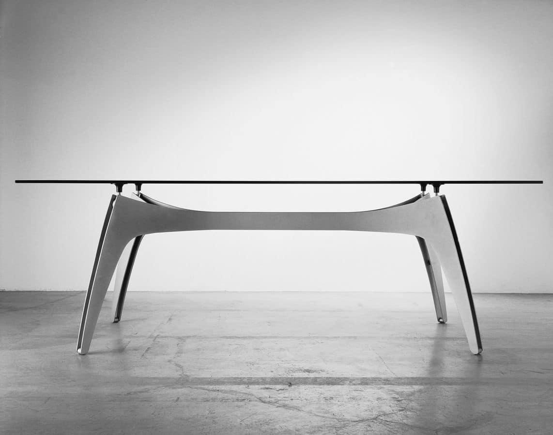 Xspider tavolo moderno cucina tavolo metallo cucina - Tavolo cucina moderno ...