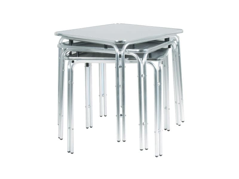 033, Tavolo in metallo per bar e gelaterie