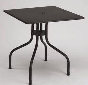 Immagine di Arturo tavolo quadrato, tavolino moderno