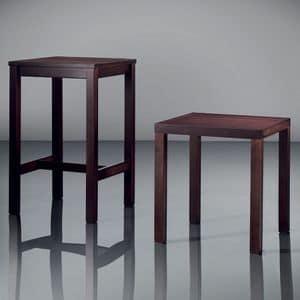 ART. 263 FAST FOOD, Tavolini moderni in legno, per alberghi