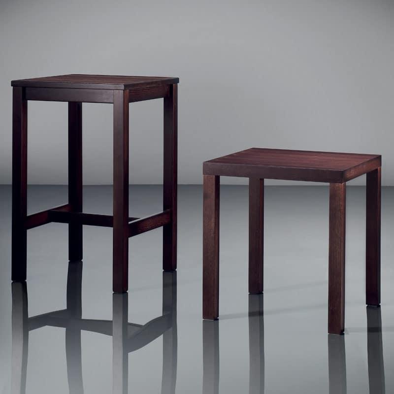 Tavolini moderni in legno per alberghi idfdesign for Tavolini moderni