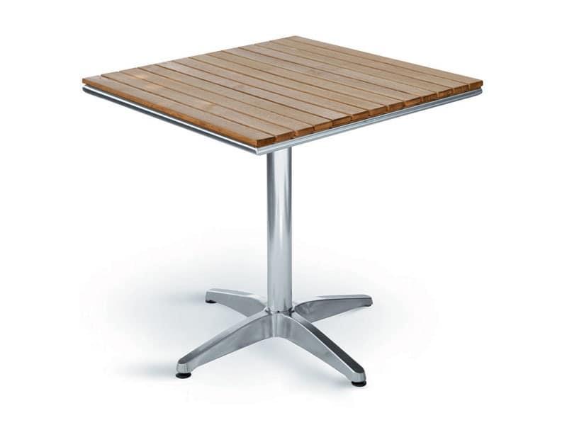 Casa moderna roma italy tavolo in legno per esterno - Tavoli per esterno ...