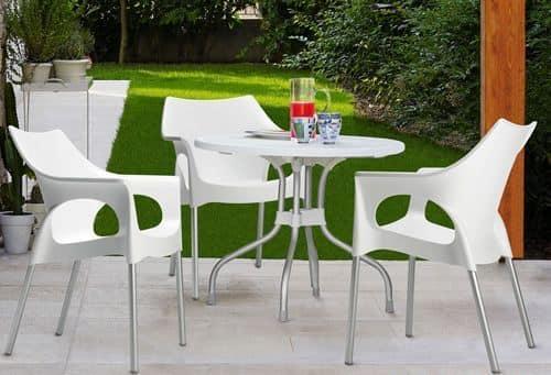 Ribalto Top, Tavolo da giardino con piano ribaltabile