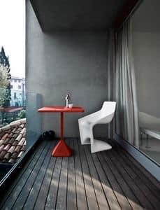 TNP, Tavolino da bar in ferro verniciato, per l'esterno