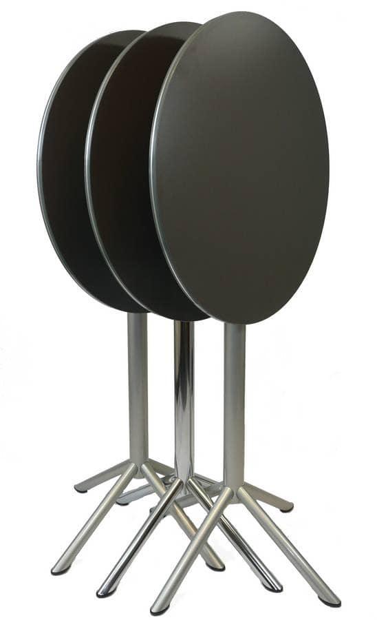 Tavolino pieghevole per bar tavolino alto con piano for Tavolo alto pieghevole