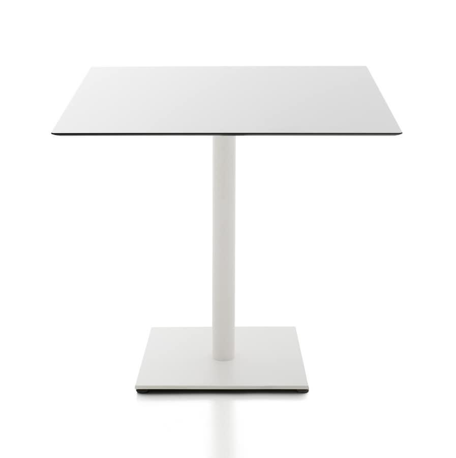 Tavolini Quadrati Bar.Tavolini Bar Tondi O Quadrati In Hpl Idfdesign