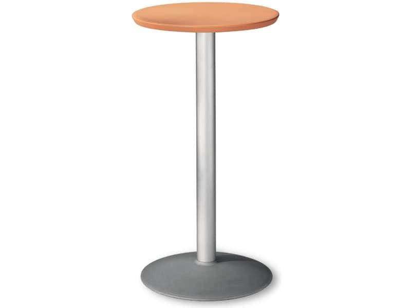 Tavolino tondo inossidabile per esterni idfdesign - Tavoli rotondi da esterno ...