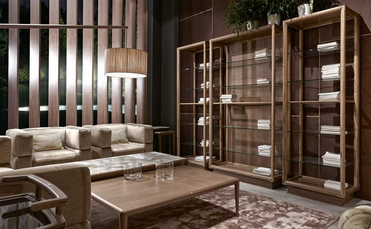 Ambrogio tavolini, Tavolini in legno dal design minimale