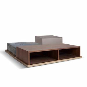 Brick, Tavolini dal design lineare
