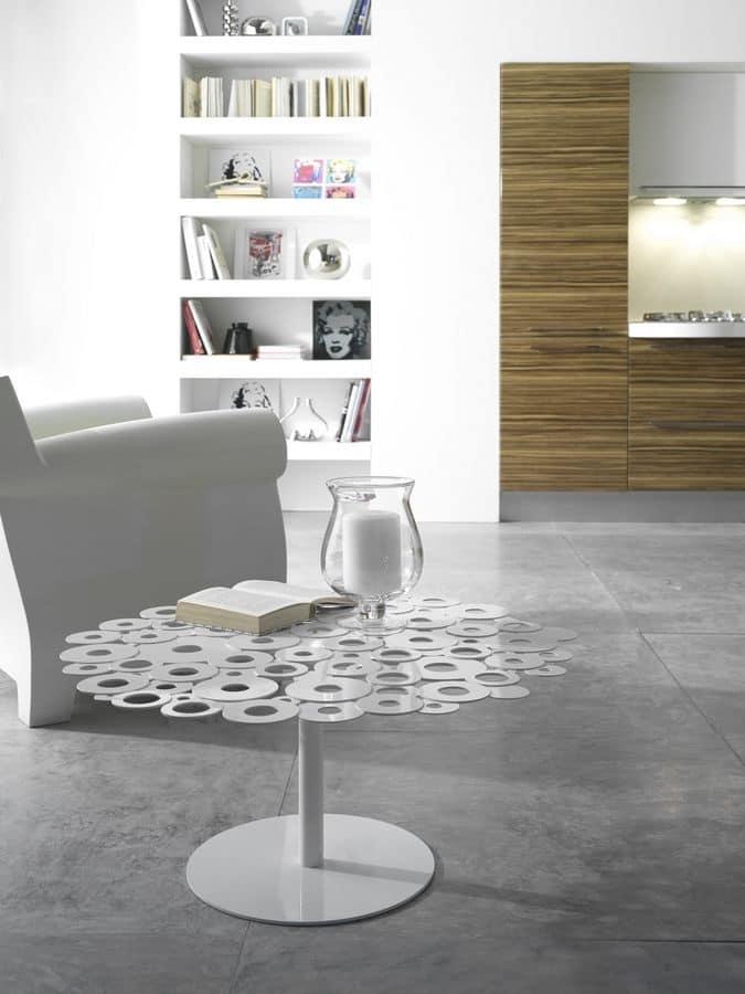 Centrino Per Tavolo Moderno.Tavolini Centro Sala Moderni Tavolini In Acciaio Salotto Idfdesign