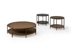 Farnsworth A, Tavolino basso design per Suite d'albergo