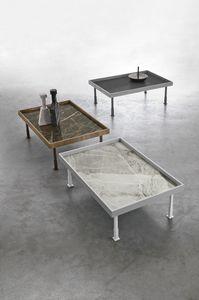 FRAME L TL529, Tavolino da salotto con piano a vassoio
