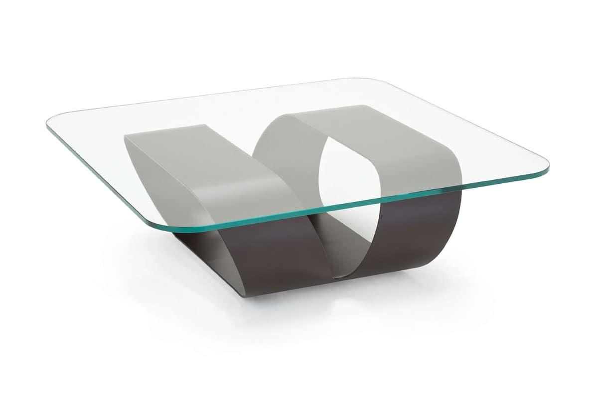 tavolino dal disegno lineare per bar moderno idfdesign. Black Bedroom Furniture Sets. Home Design Ideas