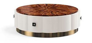 Art. 3025, Tavolino rotondo con piano in palissandro