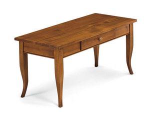 Art. 398, Tavolino in legno, con cassetto