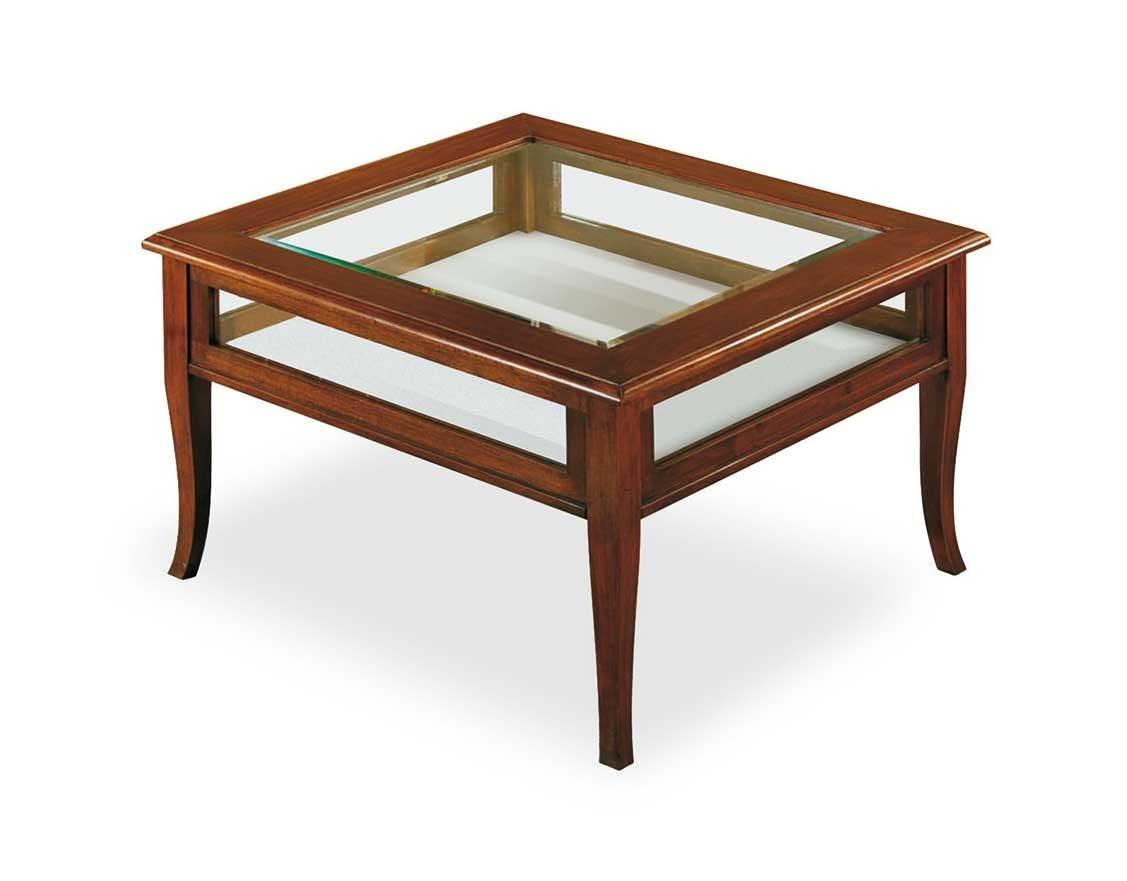 Art. 403, Tavolino da salotto con bacheca espositiva