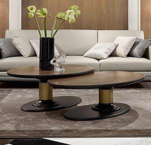 Dilan Art. D17/A - D17/B, Tavolini con piano ovale