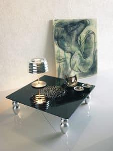 dl900 dubai, Tavolino per salotto, gambe in legno sagomato