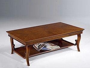 Eleonora tavolino, Tavolino da salotto con doppio piano di appoggio
