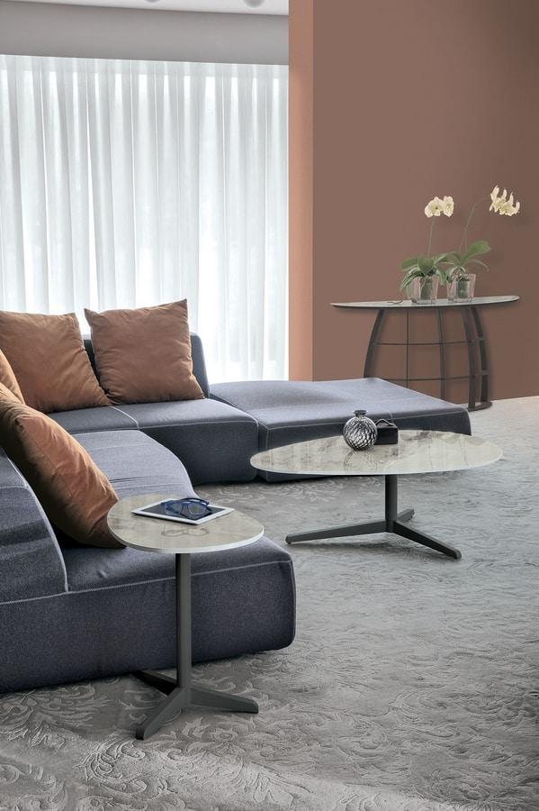 ELICA L TL513, Tavolino da salotto, in stile contemporaneo