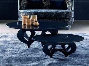 Pablito Art. 318-RO3, Tavolino con piano ovale