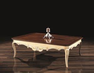 PATRIK tavolino 8683T, Tavolini di servizio, in legno, stile classico, per albergo