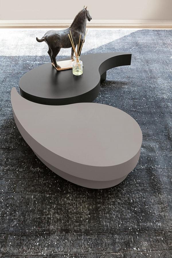 Tavolino moderno da salotto idfdesign for Tavolini moderni